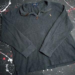 Polo Ralph Lauren   Estate Rib quarter-zip sweater